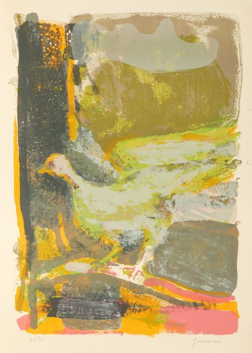 10: Paul Guiramond abstract color lithograph, #62/75.