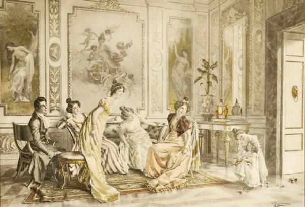 19: Vittorio Reggianini, color lithograph [ca. 1906].
