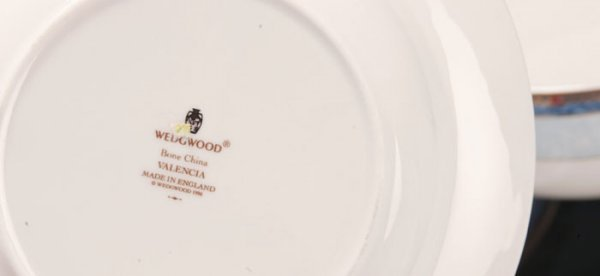 32: 93 Pieces Wedgwood Valencia China Dinnerware - 5