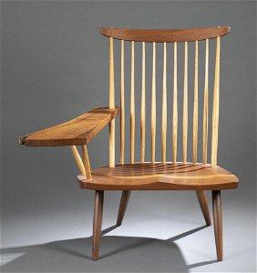Nakashima, lounge chair with arm, 2000.