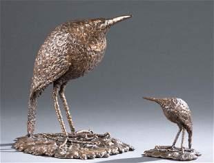 2 James K Cook kiwi bronzes 1988