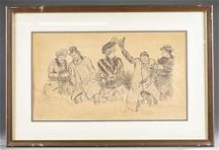 Charles Dana Gibson, Illustration, 19th/ 20th c.