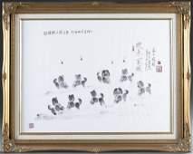 Li Jie Fingerprint painting 1999