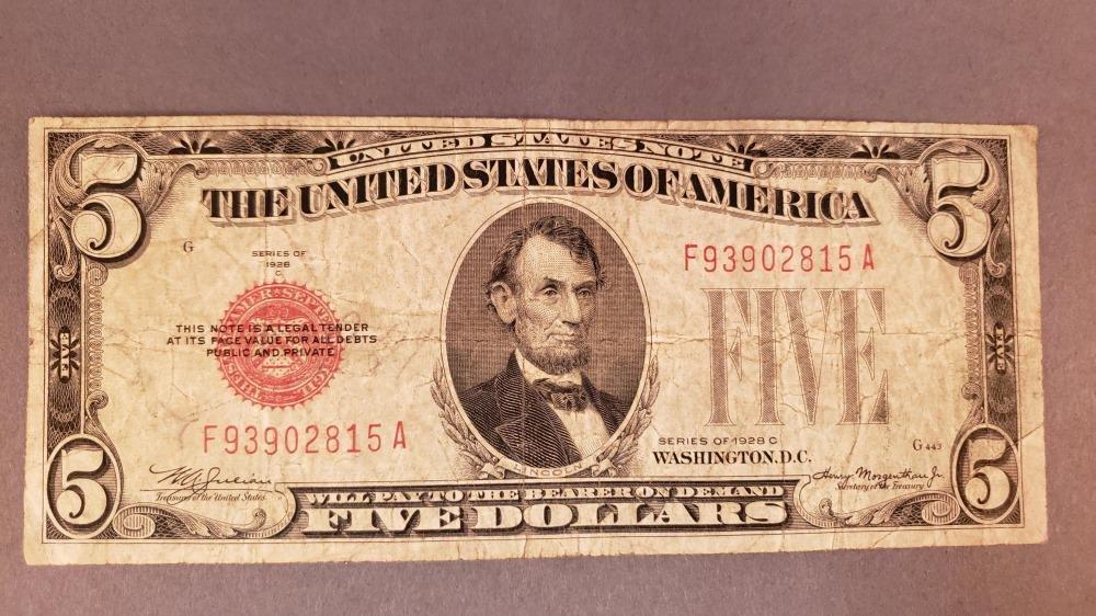 20 5 Dollar Bills