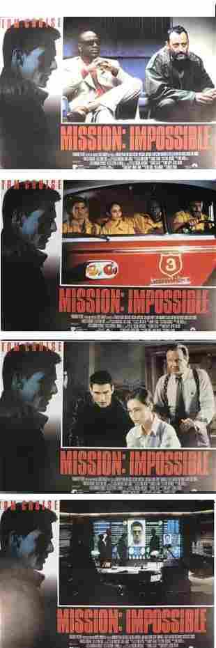 Tom Cruise, Mission: Impossible, 1996, full set o