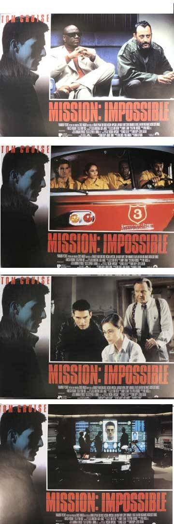 1001: Tom Cruise, Mission: Impossible, 1996, full set o