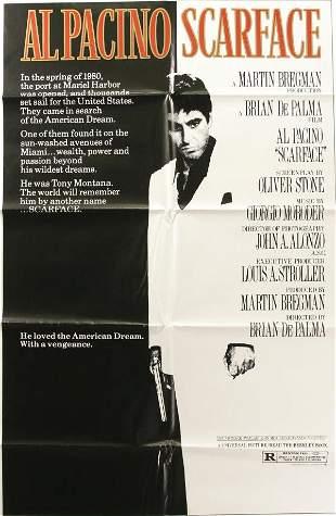 Al Pacino, 2 posters. (1) Carlito's Way, 1993, wi