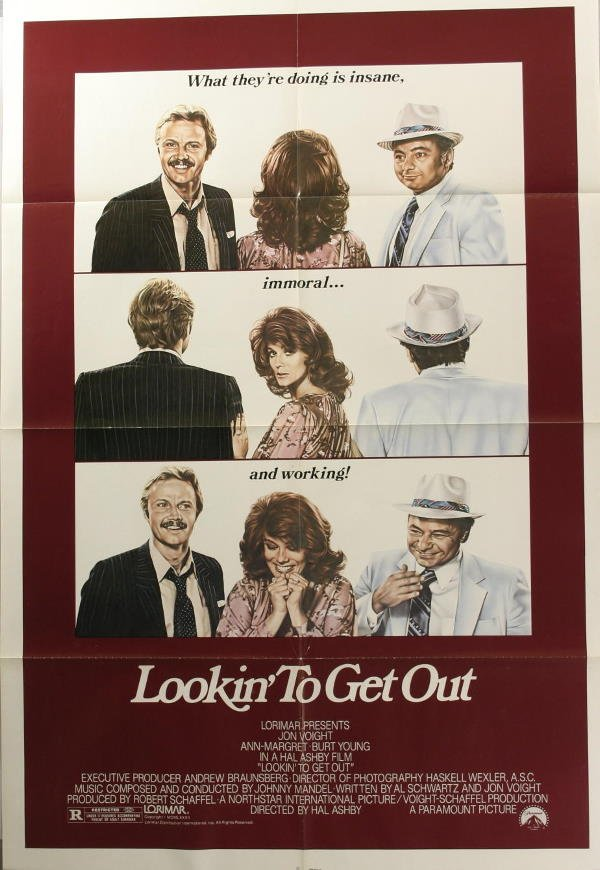 1006: Ann-Margret, 7 posters. (1) A New Life, 1988, wit