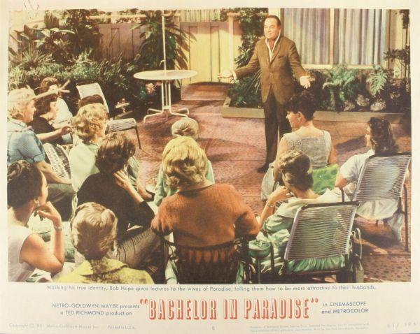 Bob Hope, 5 Items. (1) Bachelor Parade, 1961, lob