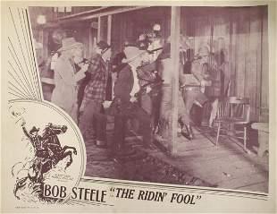 Bob Steele, 3 Lobby Cards. (1) Colorado Kid, 1937