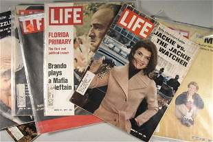 Lot of 47 Editions of Life Magazine, Saturday Eve