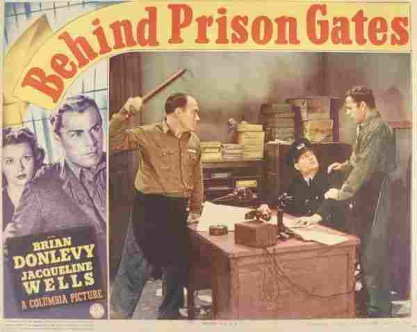 Brian Donlevey, 3 Lobby Cards. (1) Behind Prison