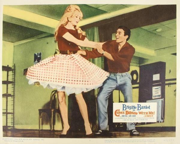 Bridgitte Bardot, 2 Lobby Cards. (1) The Girl In