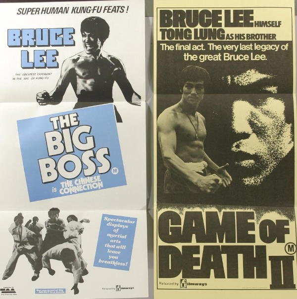 1024: Bruce Lee, 3 Inserts. Game Of Death, Game Of Deat