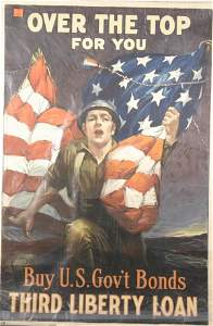 1199: Liberty Loans, 3 Posters. One by Sydney Rosenberg