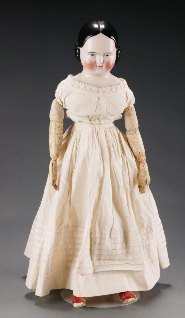2150: Covered Wagon China Shoulder Head Doll