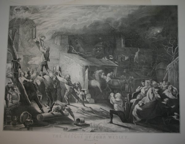 2008: John Wesley's rescue (in 2 states) and death.