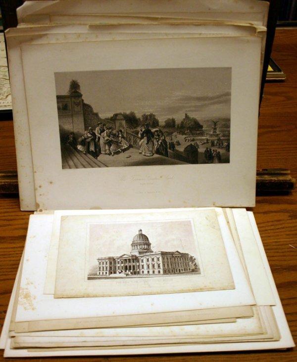 2015: ~90 lithos & engravings: Landmarks in DC, NY, Phi