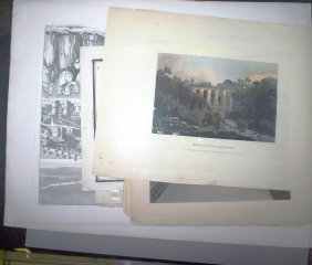 2020: ~15 prints: Greek architecture & 18th-19th Centur