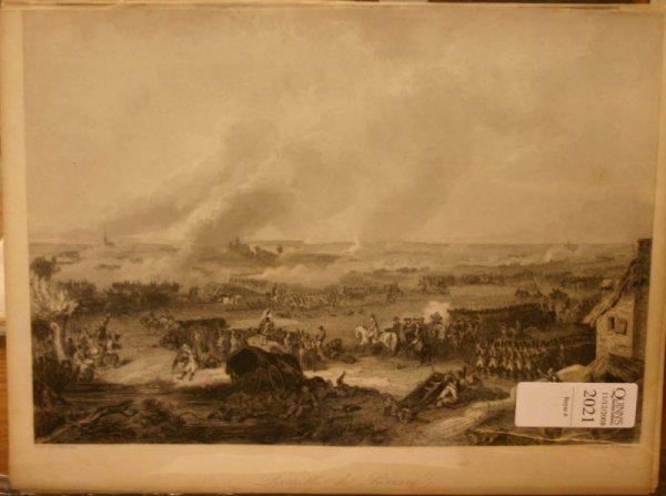 2021: ~21 lithos: Cavalry battles, landscape.