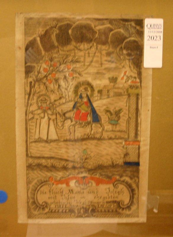 2023: Ottinger, ''Die Flicht Maria und Joseph, mit Jesu