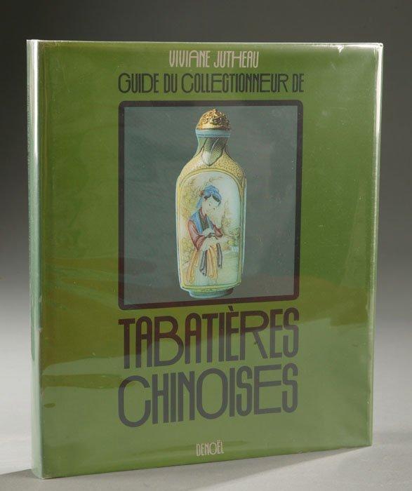 1002: Guide du Collectioneur de Tabatatieres Chinoises.