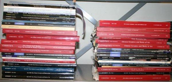1009: 49 auction catalogs, 1984-2005.