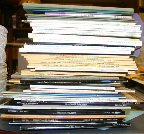 1010: 60 mostly Sotheby auction catalogs in wraps, 1960