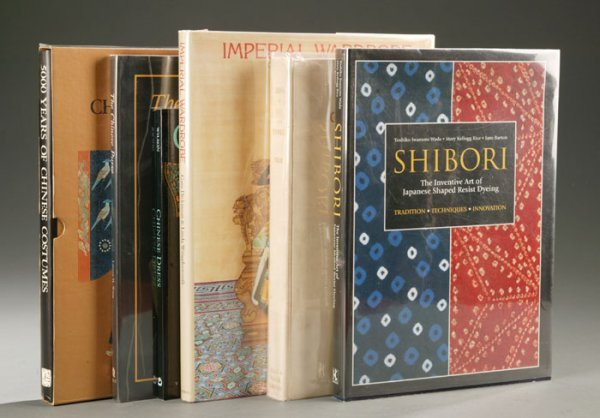1023: 6 books on Asian textile traditions.