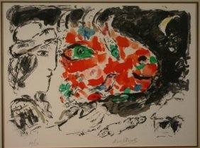 19: Marc Chagall, ''After Winter,'' sgd, #32 of 150.
