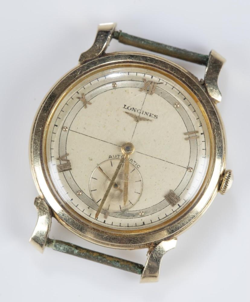 Men's Longines 14k automatic wristwatch.