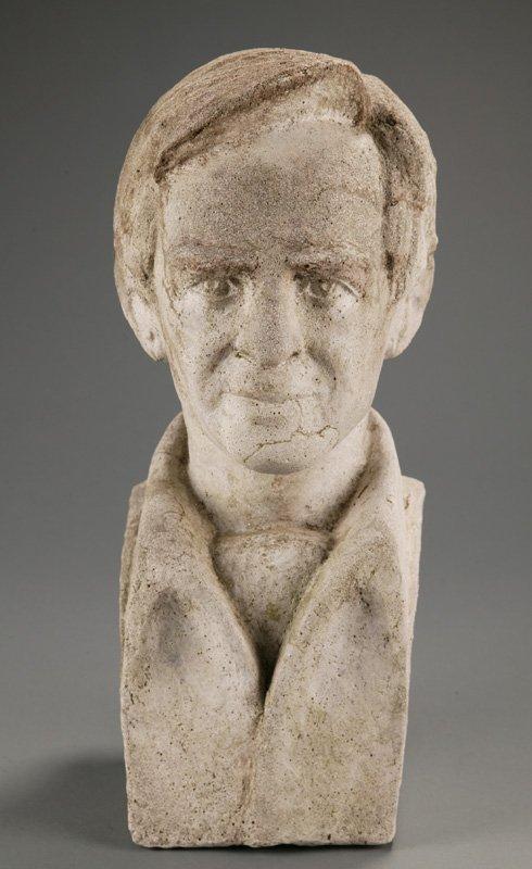 3111: Szczepanski, Charles Z. Sculpture of man's head