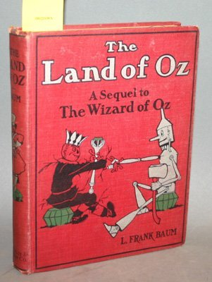 4005: Baum, L. Frank. The Marvelous Land Of Oz Being an