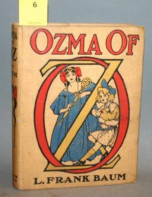 4006: Baum, L. Frank. Ozma Of Oz. Illustrated by John R