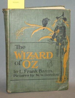 4007: Baum, L. Frank. The New Wizard Of Oz. W.W. Denslo