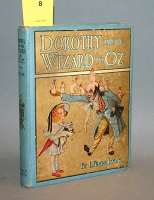 4008: Baum, L. Frank. Dorothy And The Wizard Of Oz. Ill