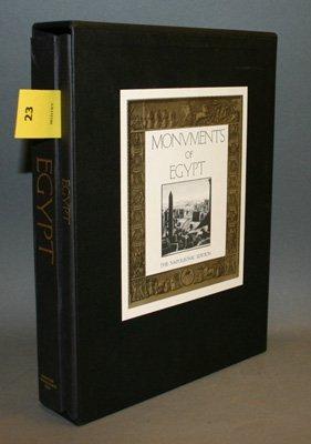 4023: [Egypt]. Monuments Of Egypt. The Napoleonic Editi