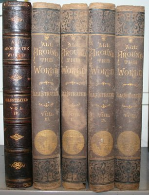 4024: [Engraved Views]. All Around The World. 5 Vols: V