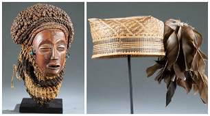 2 Central African Objects, 20th c.