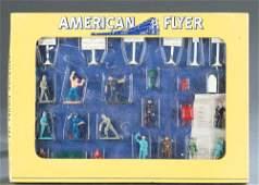 American Flyer No. 34 Railroad Figure Set in OB