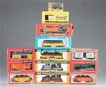 13 Varney & Life-Like HO Gauge locomotive & trains
