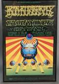 Bill Graham Presents Iron Butterfly Poster 1968