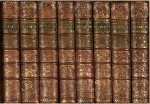 1: [Addison & Steele]. The Spectator. 8 Vols.