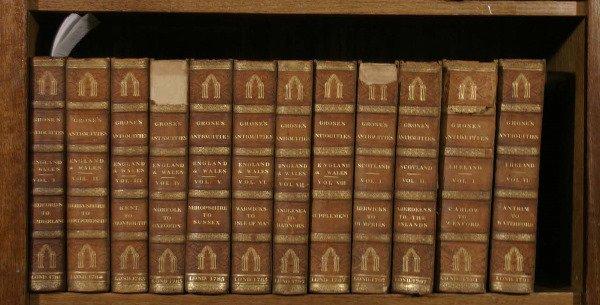 13: Grose's Antiquities. Complete in 12 vols 1781-1797