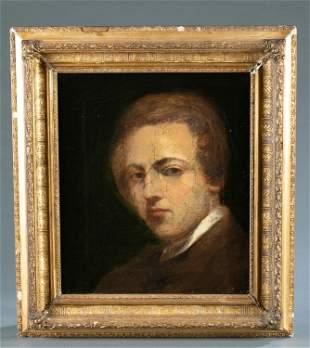 J. D. Watson,  Attrib., Portrait, 19th c.