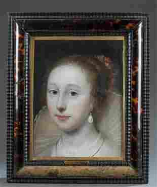 Cornelis J. Van Ceulen, Attrib., Portrait, 17th c.