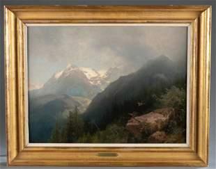 Herman Herzog, Norwegian Highland, 19th/20th c.