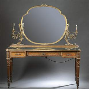 French Napoleon III dressing table, early 20th c.