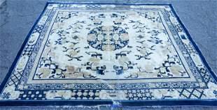 Chinese Peking style rug, 20th  c.