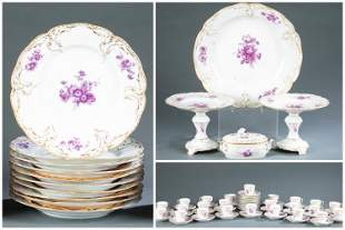 92 Pieces of KPM table ware